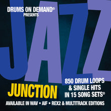 Load image into Gallery viewer, Jazz Junction - Jazz Drum Loops