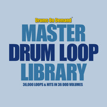 Load image into Gallery viewer, DOD Master Drum Loop Library (Download Only)