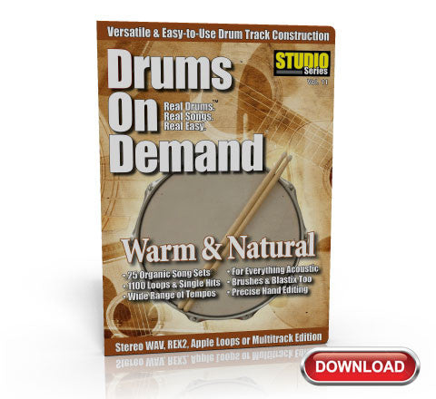 Natural Drum Loops