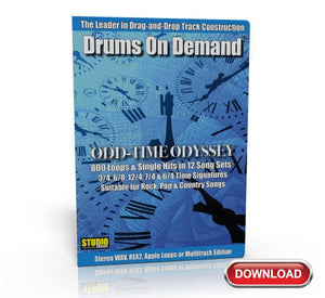 odd time drum loops on CD
