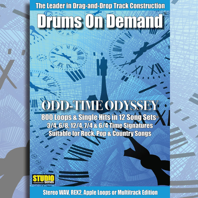 Odd Time Drum Loops