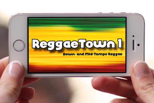 Reggae Drum Loops for iOS Devices: ReggaeTown 1 Lite