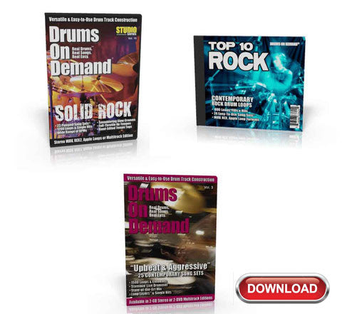 Rock Drum Loops Bundle