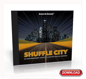 shuffle drum loops CD cover