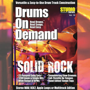 Drum Loops for Rock