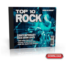 Load image into Gallery viewer, Top 10 Rock Drum loops