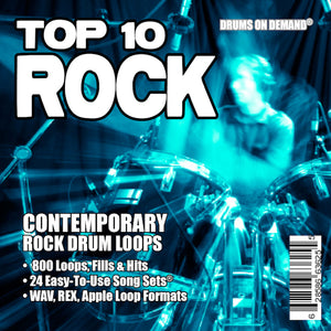 Top 10 Rock Drum loops
