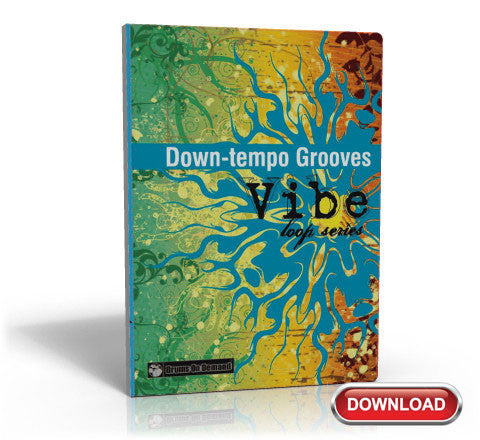 Slow Tempo Drum Loop Grooves