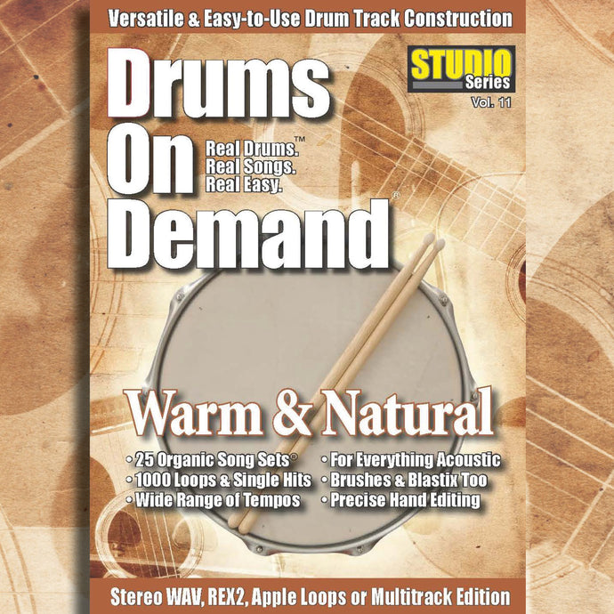 dry drum loops unprocessed