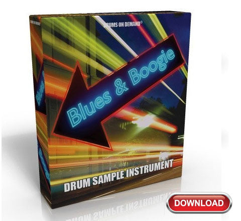 Blues Drum Sample Instrument