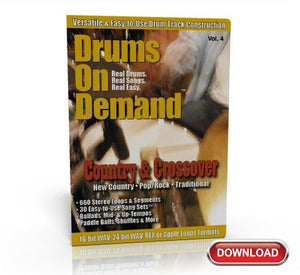 best country drum loops