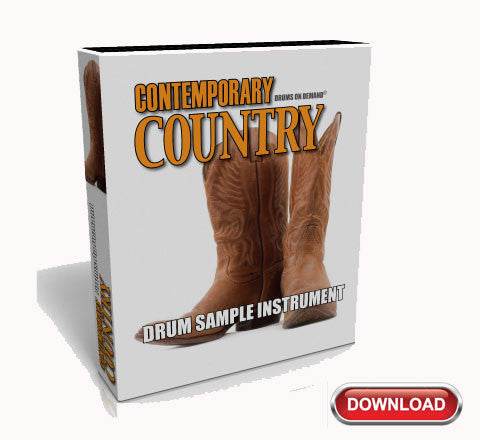 Country Drum Samples by Drums On Demand (Download) | Drums On Demand