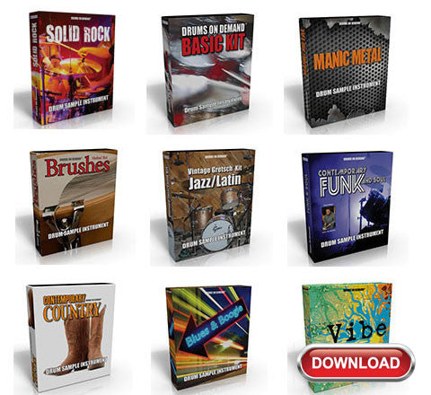 Drum Sample Instruments - Master Collection