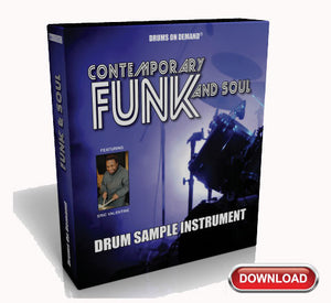 Funk Drum Sample Instrument