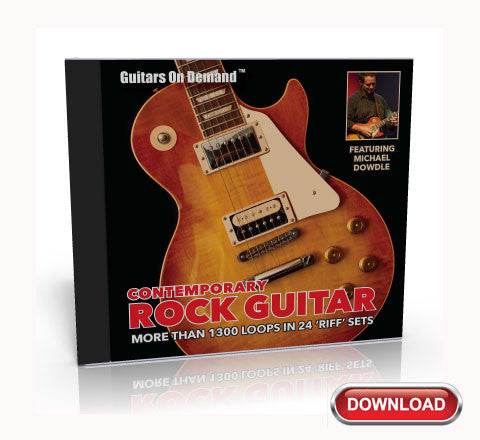 Contemporary Rock Guitar Loops: Guitars On Demand