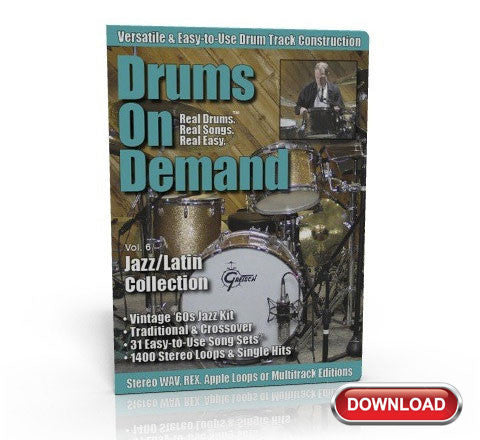 Jazz-Latin Drum Loops