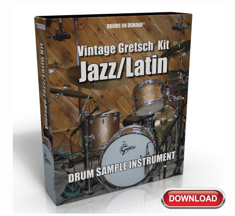 Jazz Drum Samples by Drums On Demand (Download) | Drums On Demand