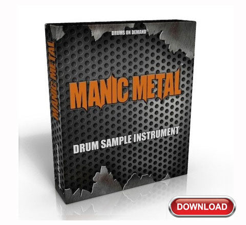 Metal Drum Sample Instrument