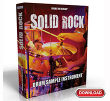 Load image into Gallery viewer, Solid Rock Drum Sample Instrument