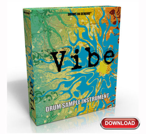 Vibe Drum Sample Kit Instrument