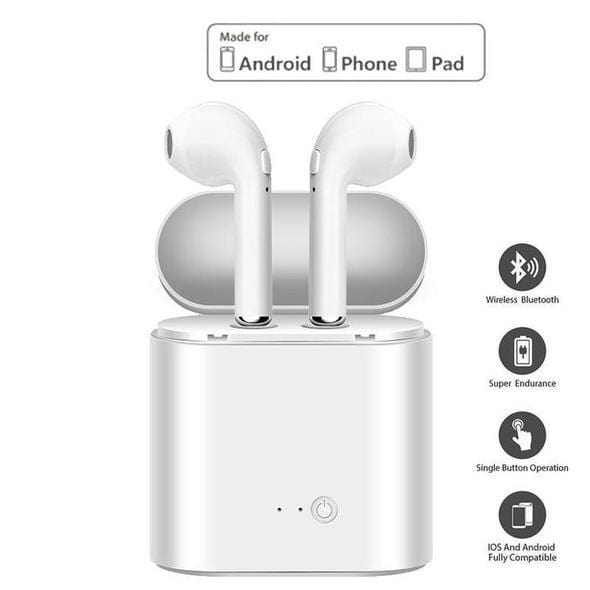 Wireless Bluetooth Earbuds For Iphone And Android Shopicado