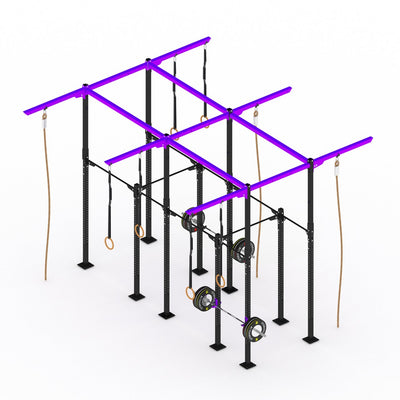 GYMHOLIX STRENGTH RIG 4+ RACK + 9 TOWER