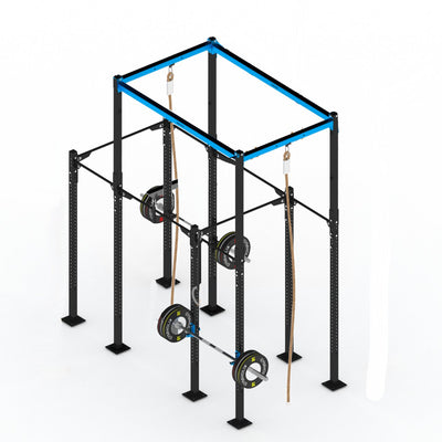 GYMHOLIX STRENGTH RIG 4 RACK + 2 TOWER