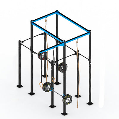 GYMHOLIX STRENGTH RIG 4 RACK + 3 TOWER