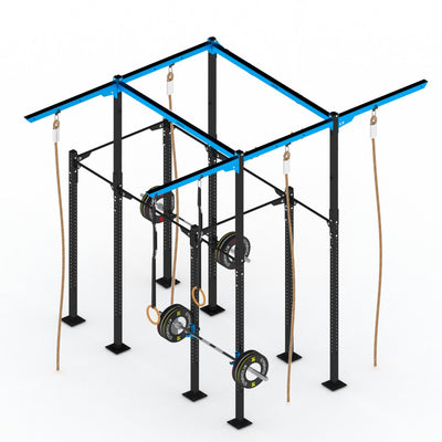 GYMHOLIX STRENGTH RIG 4 RACK + 5 TOWER