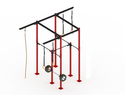 GYMHOLIX STRENGTH RIG 2+ RACK + 5 TOWER