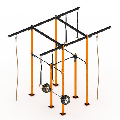 GYMHOLIX STRENGTH RIG 2+ RACK + 6 TOWER
