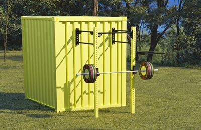 GYMHOLIX FASTBOX CUBE HERO - 1 DOOR PORTABLE FITNESS STATION