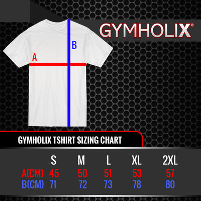 GYMHOLIX LIFT FOR THE BURGER BLACK MEN'S TSHIRT