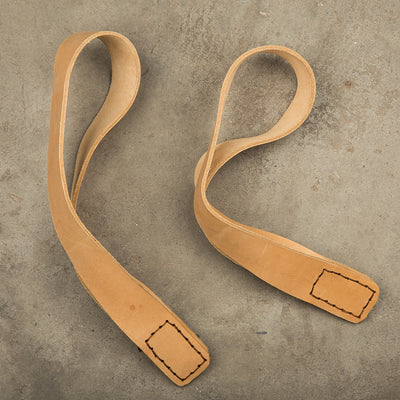 GYMHOLIX ELITE LEATHER OLY STRAP (SINGLE LOOP)