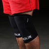 GYMHOLIX 7MM KNEE SLEEVES - BLACK