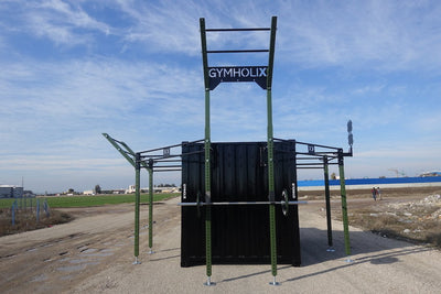 GYMHOLIX FASTBOX STD MILITARY TACTICAL PORTABLE FITNESS STATION CONTAINER CONEX