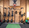 GYMHOLIX ROWER-FLAT BENCH RACK HANGER