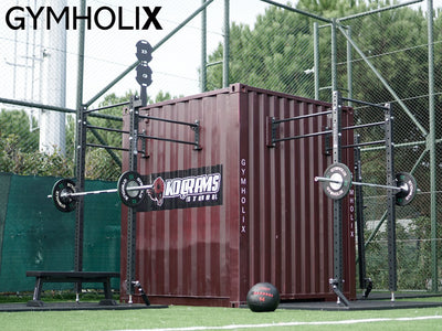 GYMHOLIX FASTBOX STD PORTABLE FITNESS STATION CONTAINER CONEX