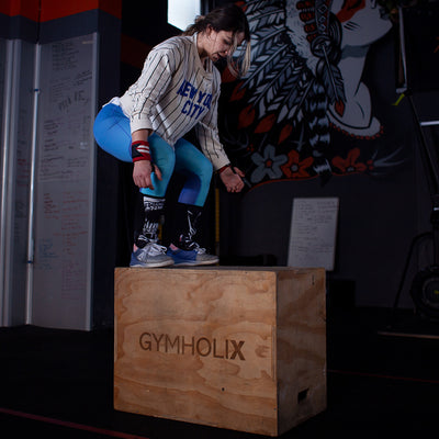 GYMHOLIX 3 IN 1 WOOD PLYO BOX