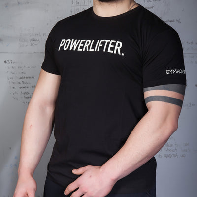GYMHOLIX POWERLIFTER MEN'S TSHIRT
