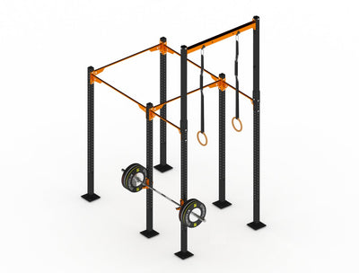 GYMHOLIX STRENGTH RIG 2+ RACK + 1 TOWER