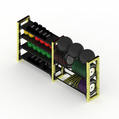 GYMHOLIX ULTRA MASS STORAGE MEDIUM (7 TIER)