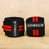 GYMHOLIX WRIST WRAP RED/BLACK