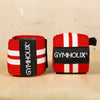 GYMHOLIX WRIST WRAP WHITE/RED