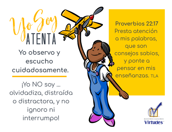 Spanish Teacher's Virtue Cards -PDF