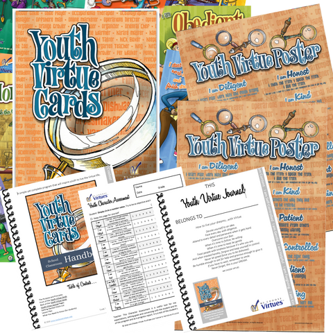 "FAMILY and HOMESCHOOL KIT for YOUTH  | Promo Code: ""SPRINGSALE"" 25% off ends June 30th"