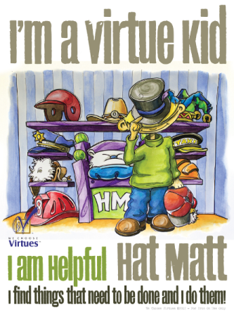 """I'm A Virtue Kid"" Iron-On PDF"
