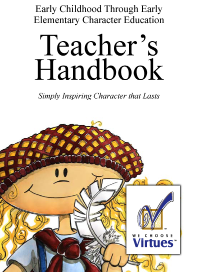 Virtue Teacher's Handbook for Early Education -PDF