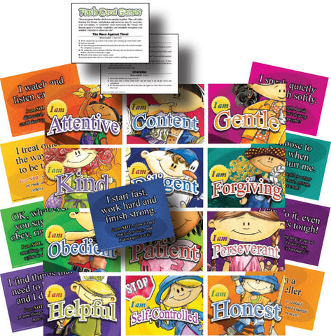 Virtue Flash Cards for Families -PDF