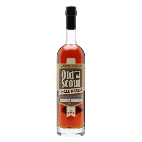 Smooth Ambler Old Scout Single Barrel Cask Strength Straight Bourbon Whiskey - De Wine Spot | Curated Whiskey, Small-Batch Wines and Sakes